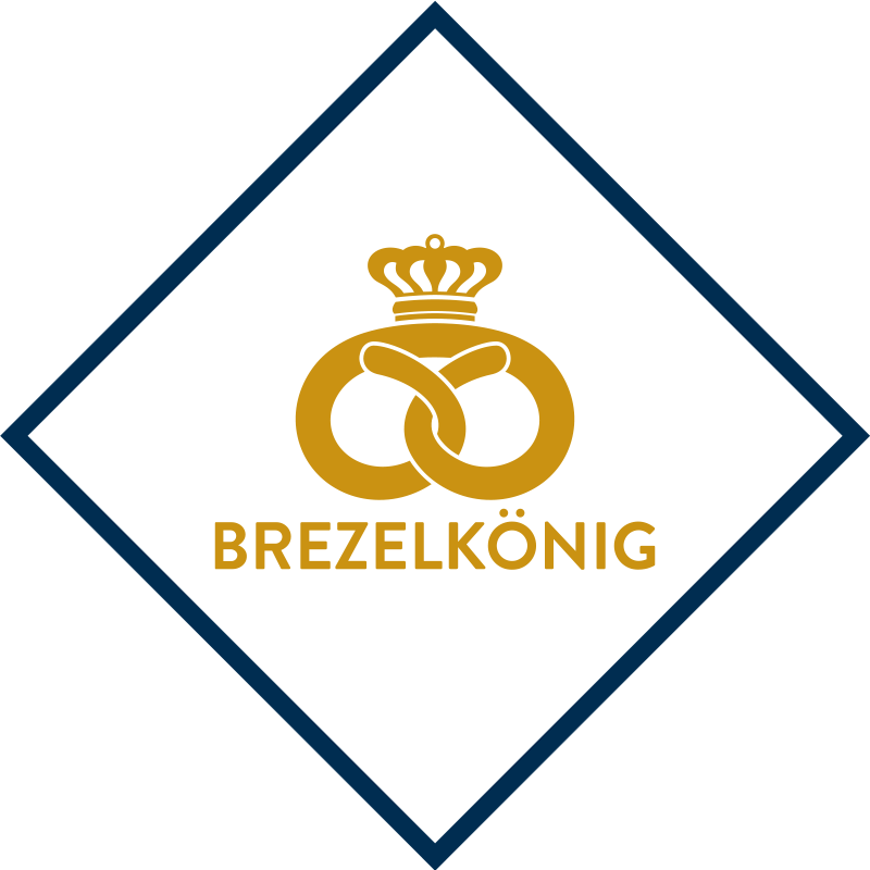 Freshly prepared lye-baked products in the form of pretzels, breadsticks or croissants – that's Brezelkönig.