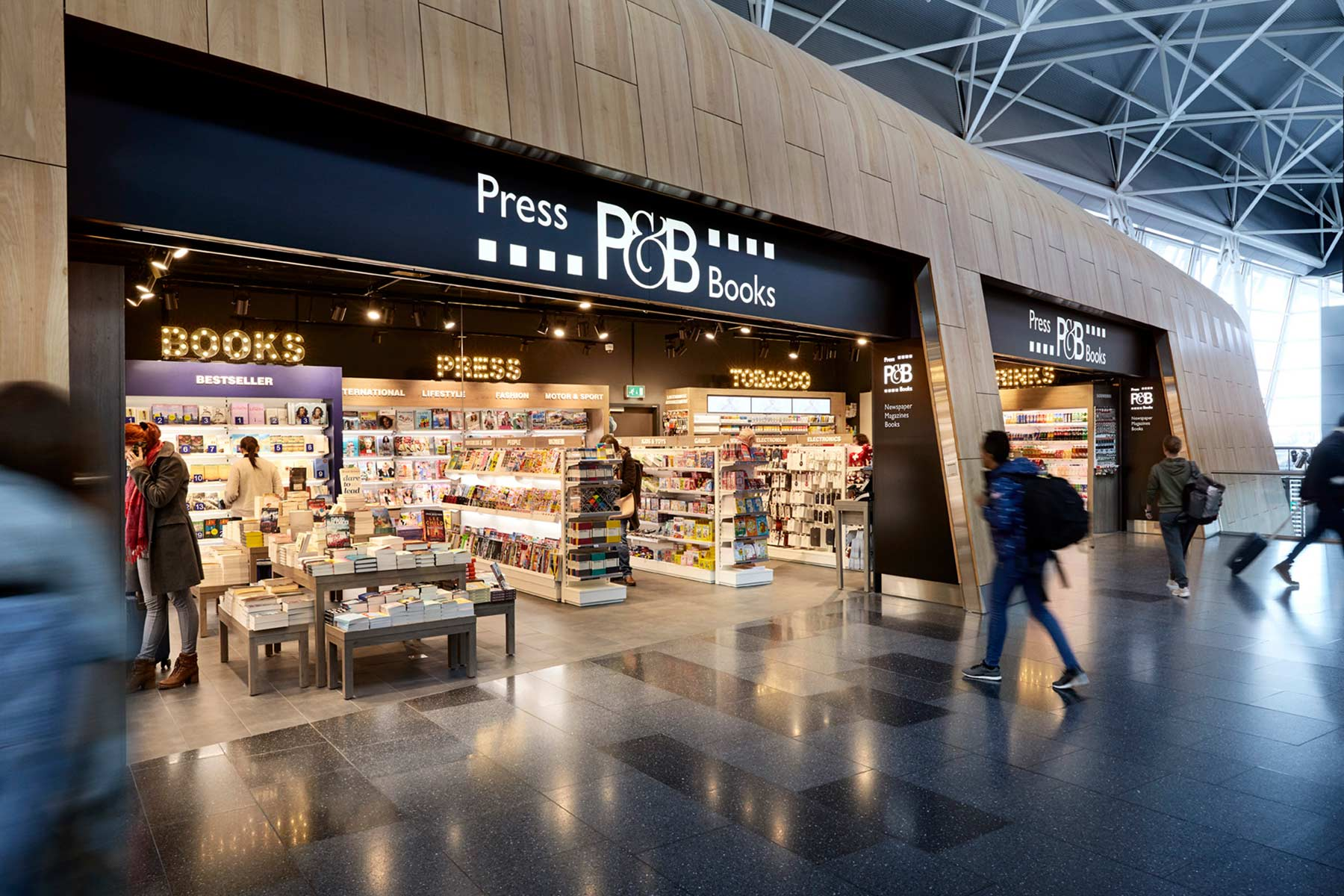 Press & Books, «A world of reading»